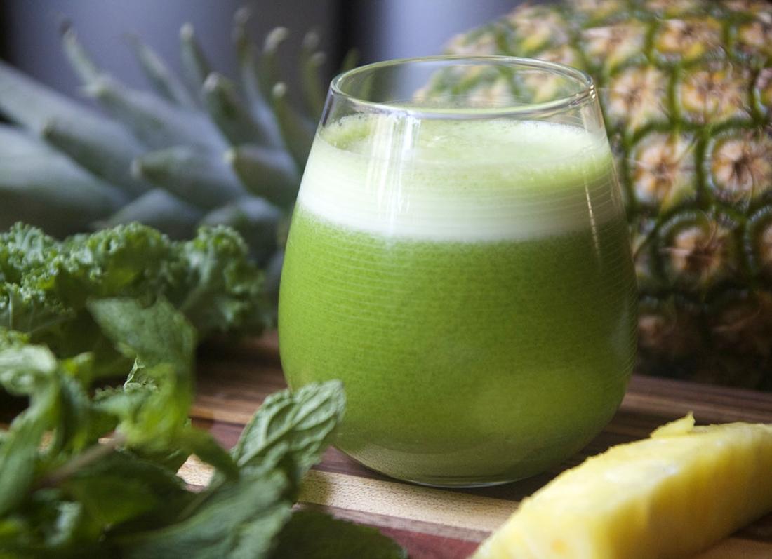 Pineapple-Green-Juice