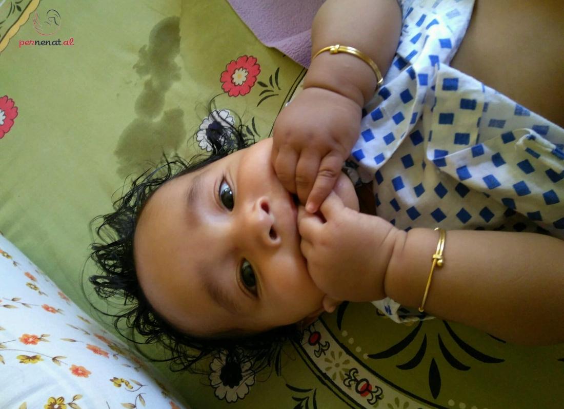 femija fut duart ne goje, krem dielli, lekura, bebe