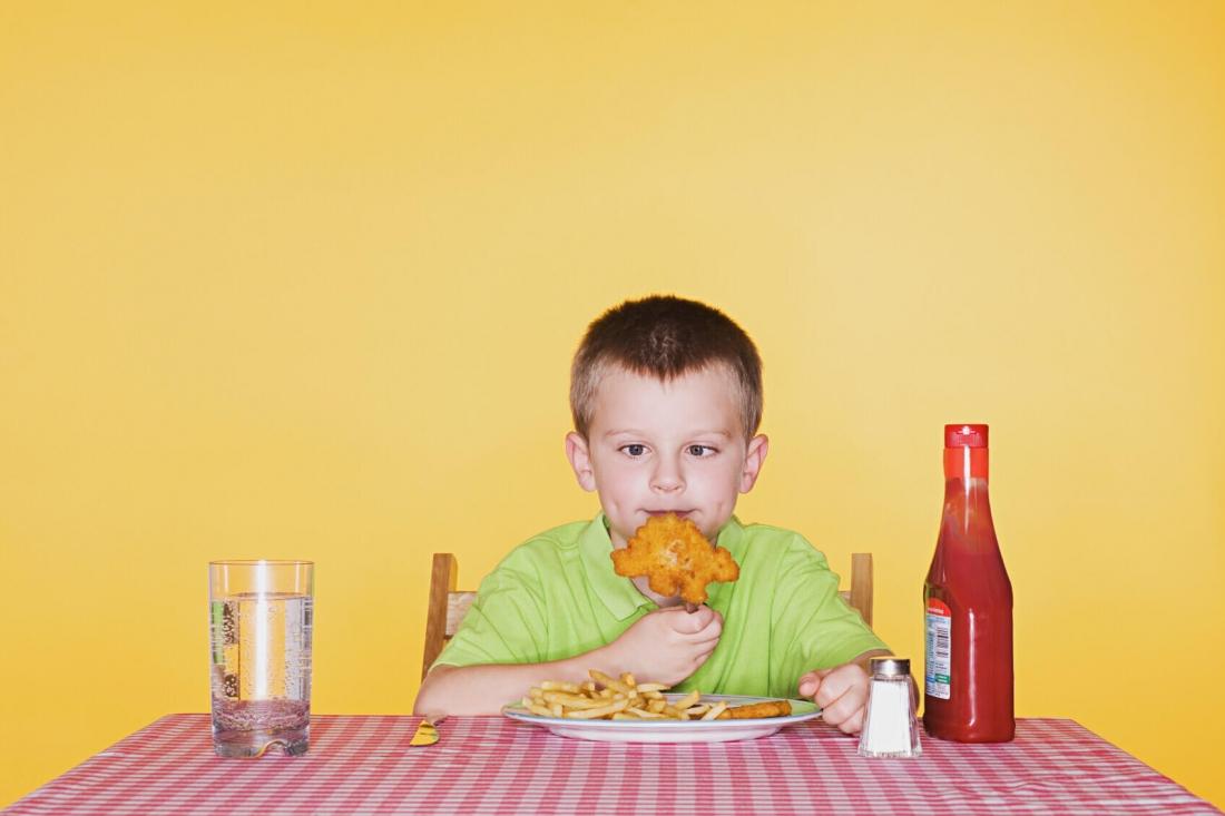 femija ha sasi te larte kripe, ushqimet qe permbajne me shume kripe