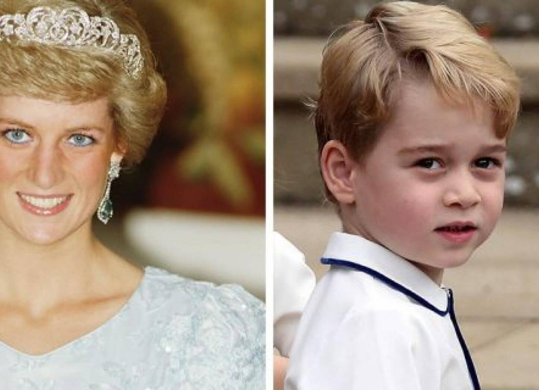 princi xhorxh, princi William, princeshe Diana, kercim