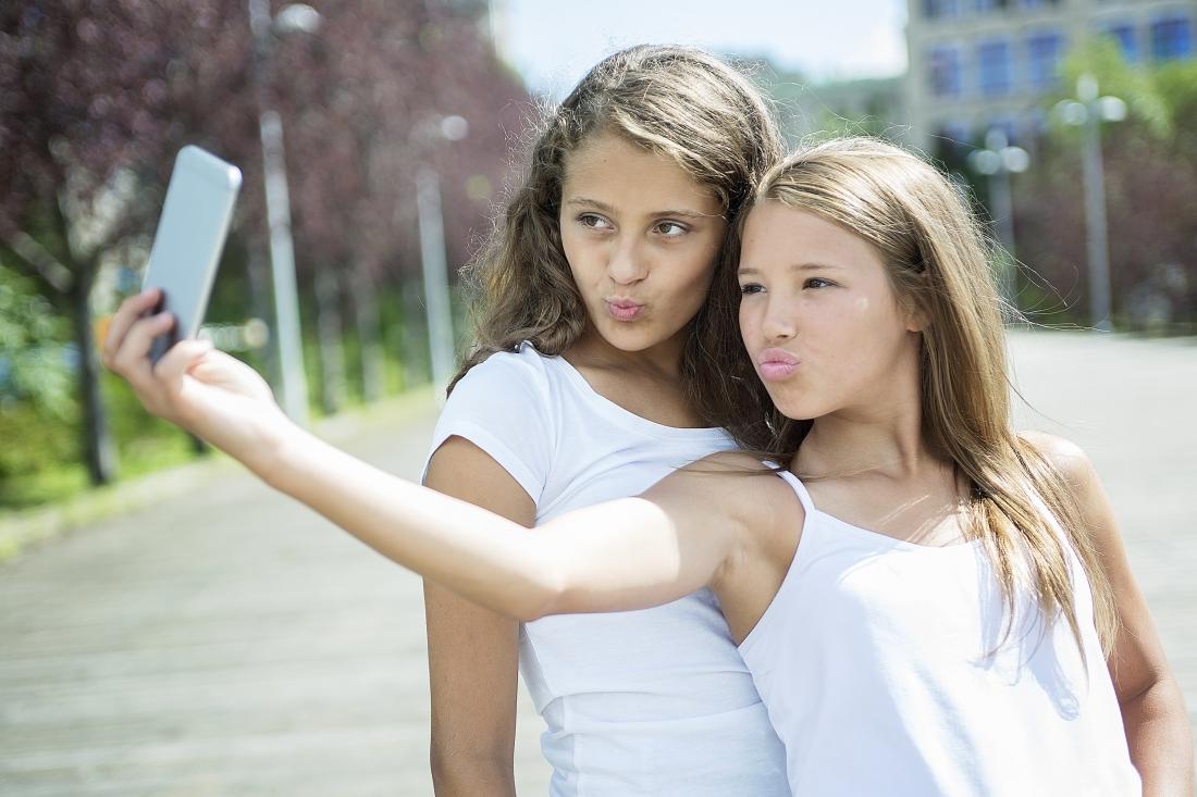 foto selfie, parazitet e kokes