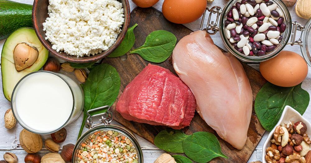 ushqime qe permbajne proteina