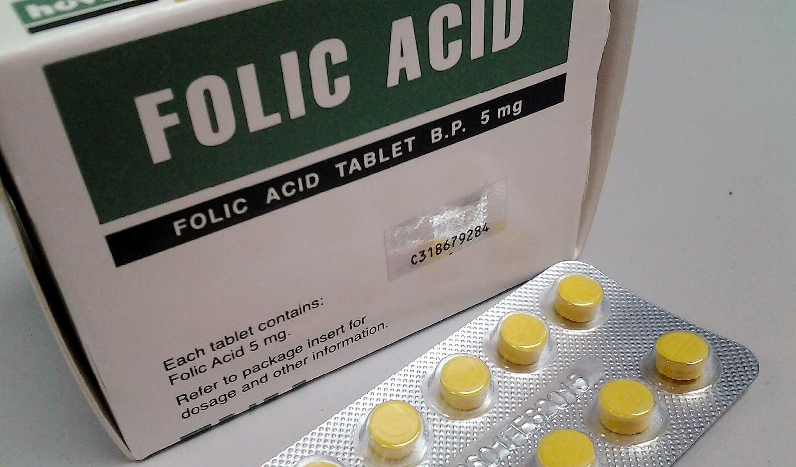acid folik, acid folik ne shtazani