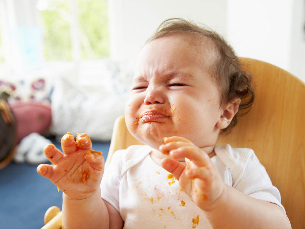 ushqime te kripura, si ta mesoj femijen te haje ushqime te kripura