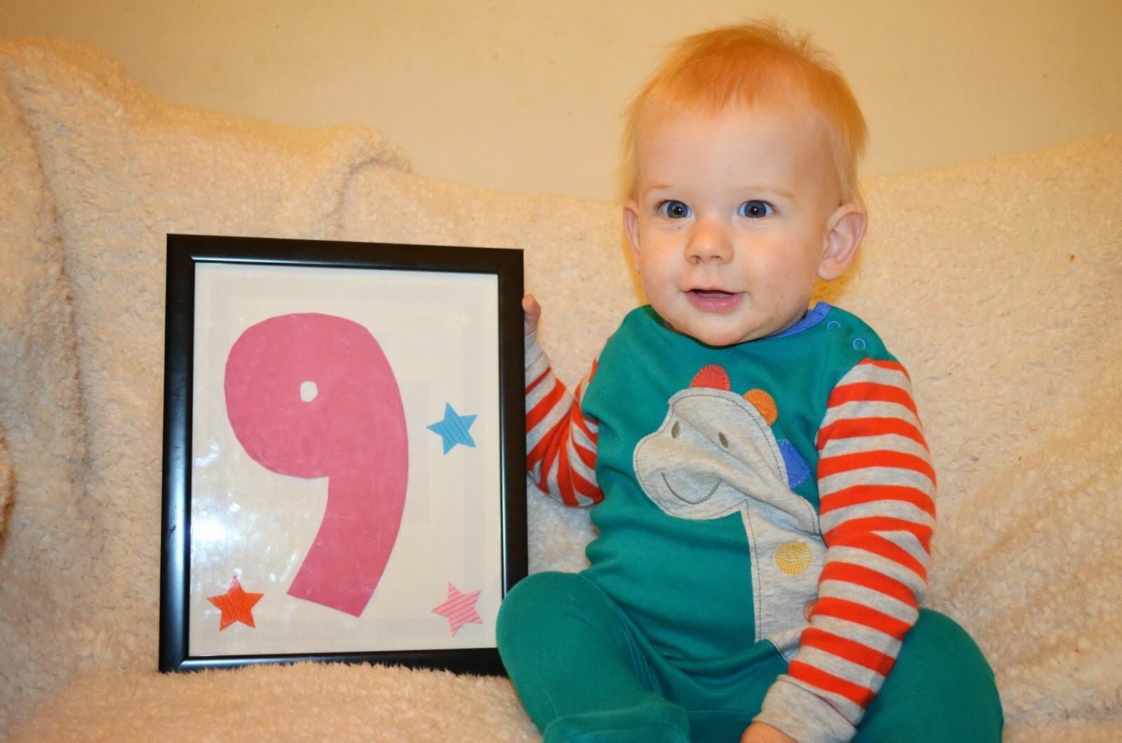 bebi 9 muajsh, femija 9 muajsh, regres