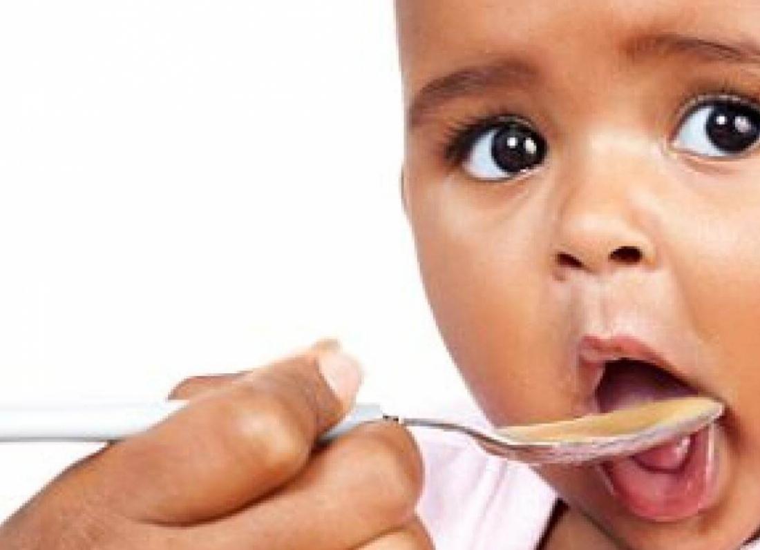 kripa, kur te shtojme kripe ne ushqimet e femijeve