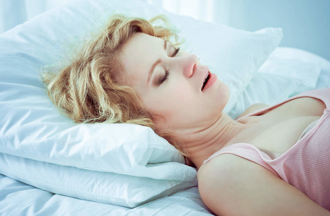 apnea e gjumit, kanceri tek grate